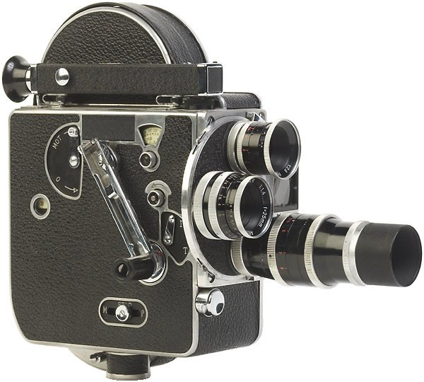 Antique Movie Camera